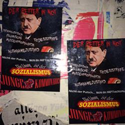Junge Kommunarden Sticker çalışması