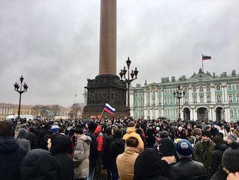 Rusya'da 'yolsuzluk karşıtı' gösteriler