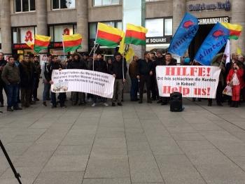Rojava ve Şengal'e saldırı protesto edildi