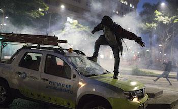 Brezilya'da aktif grev