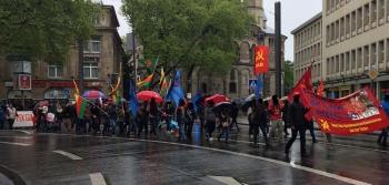 Köln 1 Mayıs'ı: Her yer Taksim her yer direniş