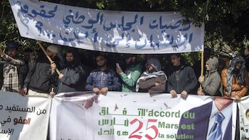 Fas'ta hükümete ve polise karşı tepki