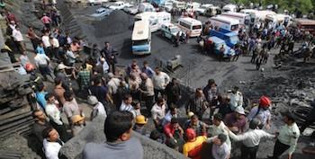 Madenci katliamında ölenlerin saysı 43