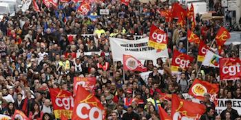 Fransa'da grev hazırlığı
