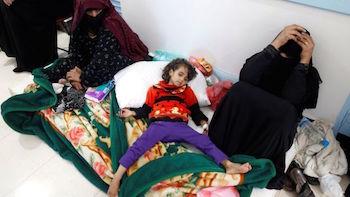 Yemen'de kolera salgını