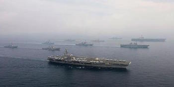 Pasifik'te güç gösterisi