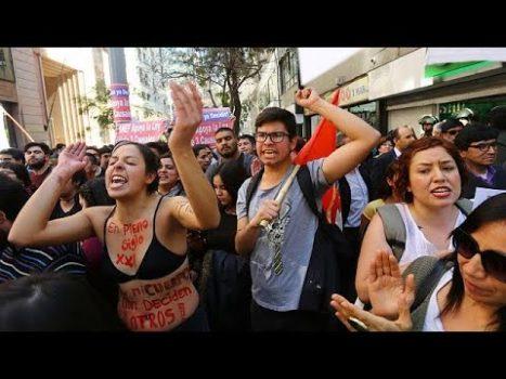 Şili'de kadınlardan kısmi kazanım