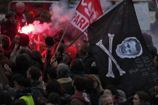fransa genel grev
